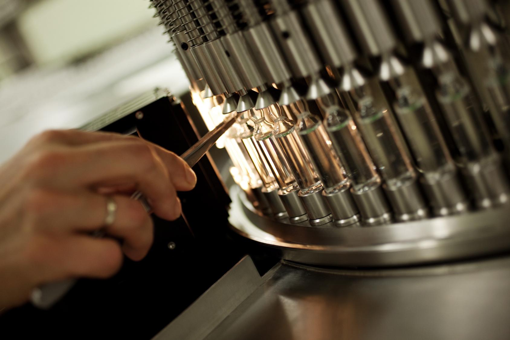 final sterilization-ampules